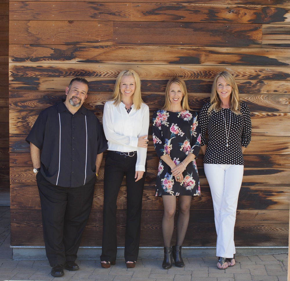 The Center 4 Life Change Staff: ​Ricky Sanchez, Melissa Kirk, Felicia Durling & Andrea Salzburn