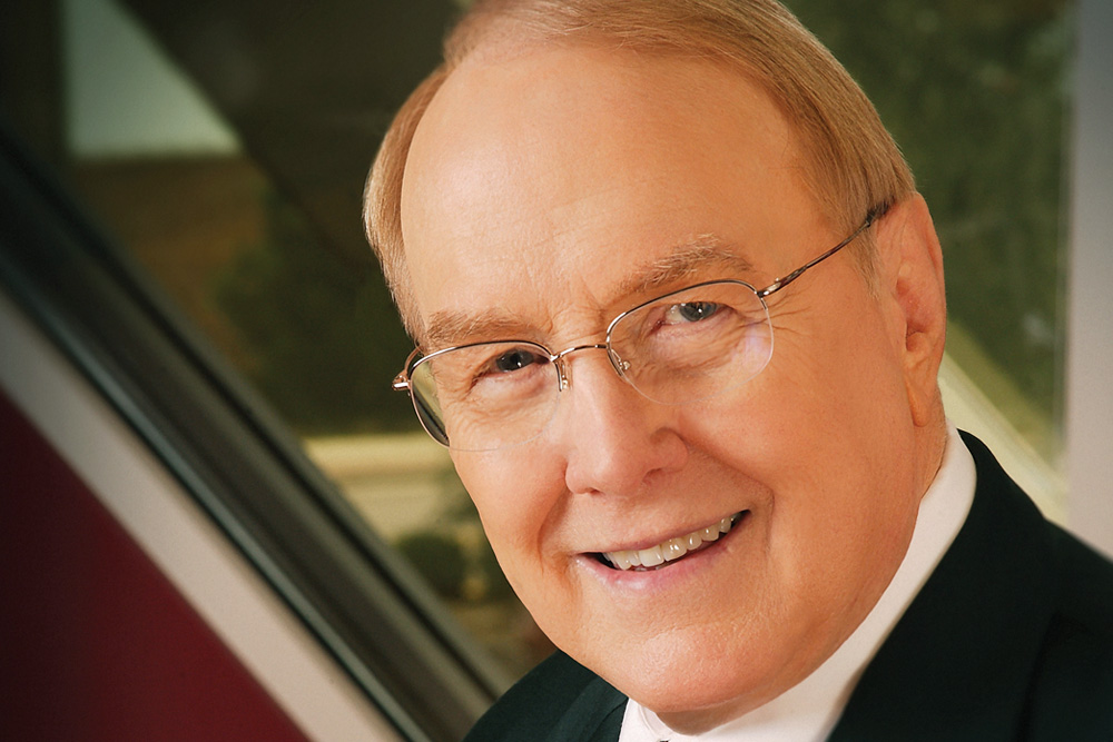 Author Dr. James Dobson