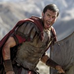 Clavius (Joseph Fiennes) leads his Roman soldiers during the zealot battle in TriStar Pictures' RISEN