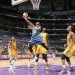 WNBA Star Monica Wright Layup