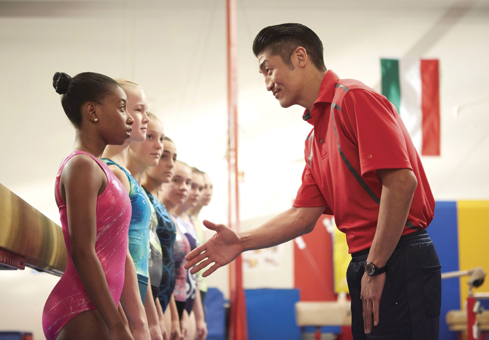 Still from The Gabby Douglas Story told on The Lifetime Channel