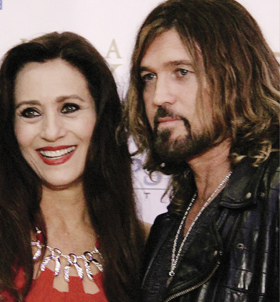 Tammy Hyler with Billy Ray Cyrus