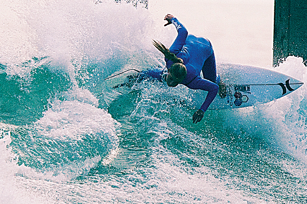 Professional Surfer, Lakey Peterson. Photo by Rob Springer