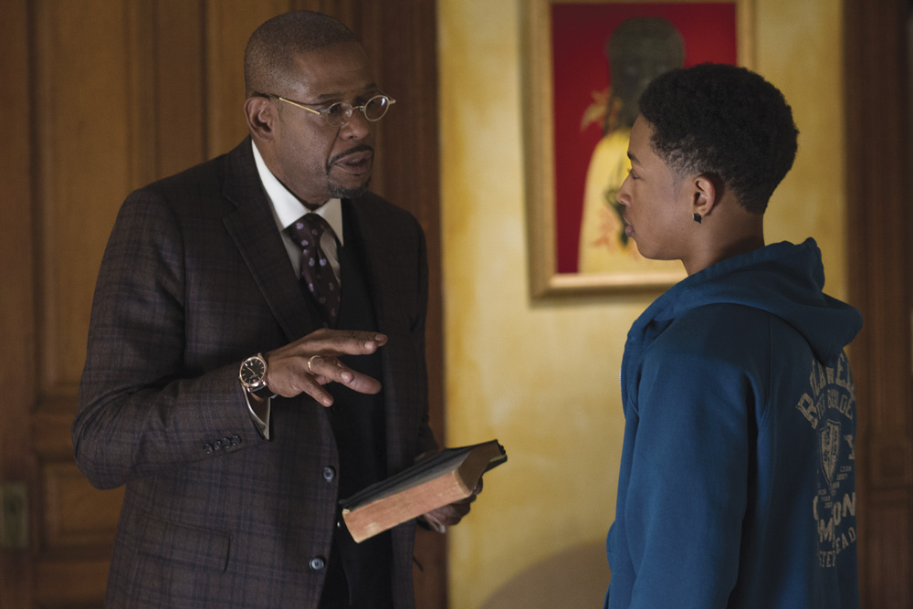 Black Nativity Movie cast Forest Whitaker © 2013 - Fox Searchlight