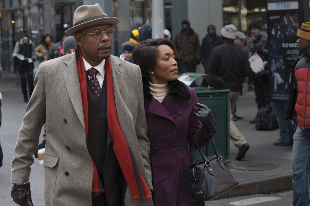 Black Nativity Movie cast Forest Whitaker and Angela Bassett. © 2013 - Fox Searchlight