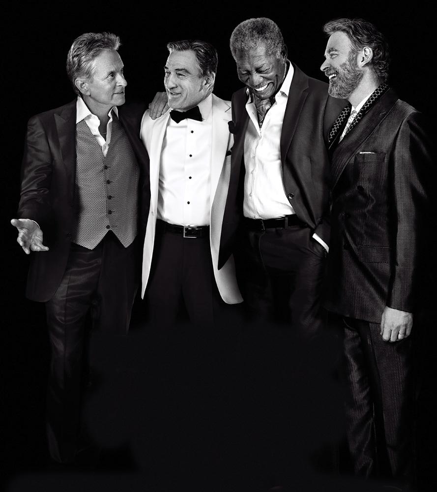 Last Vegas Movie Cast: Michael Douglas, Robert DeNiro, Morgan Freeman, Kevin Kline © 2013 CBS Films
