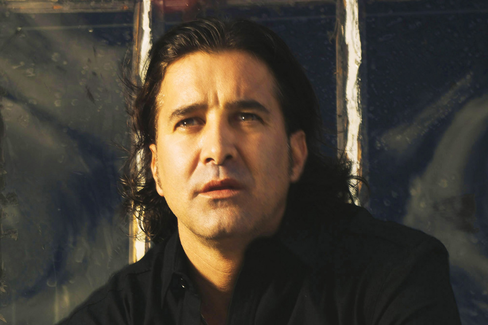 Creed Band Lead Singer Scott Stapp. Photo by Jeremy Cowart
