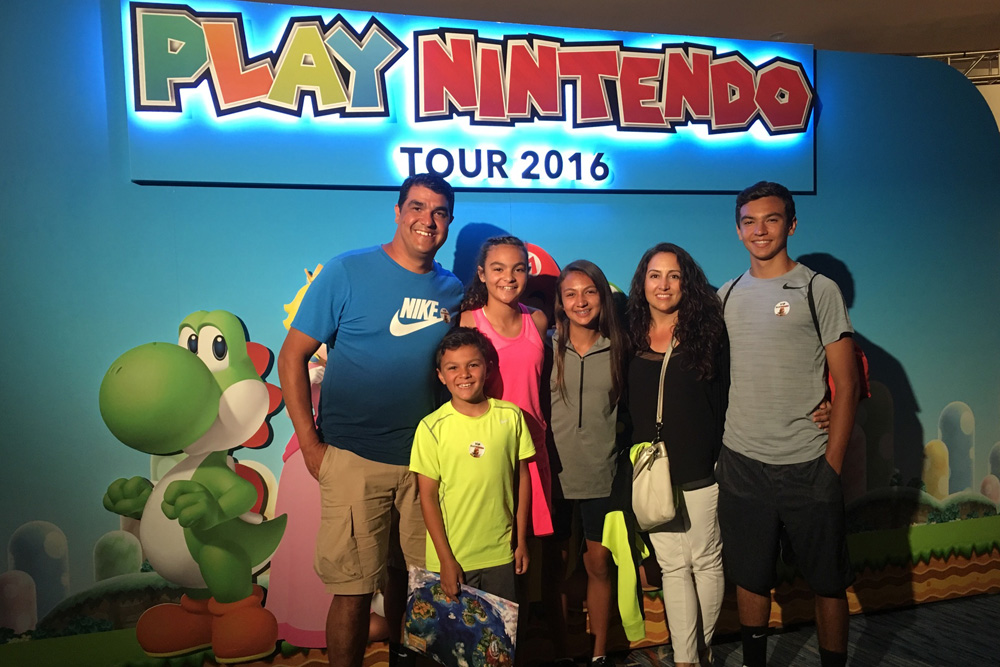 Creating a Family Bucket List with Nintendo Be a Kid for a Day