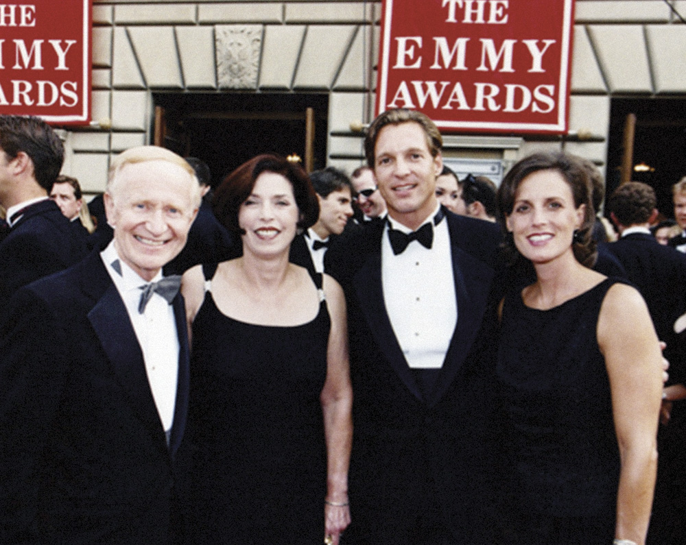 Barry and Ginny Thurston with Joe and Carmen Kissack
