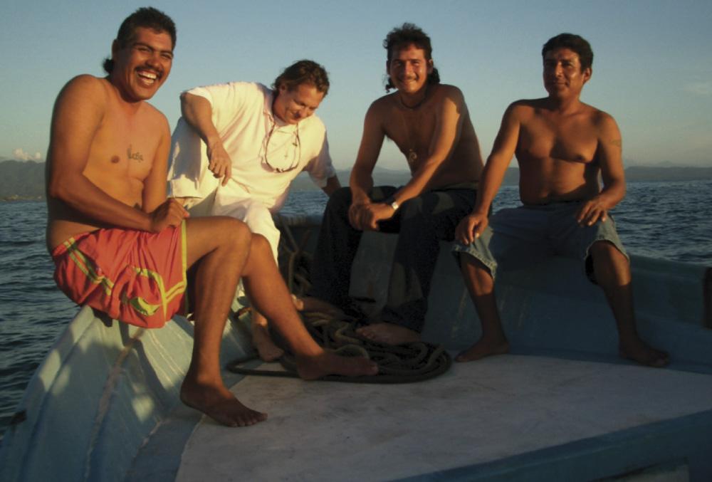 The Fishermen: Jesus, Joe, Lucil, and Salvador