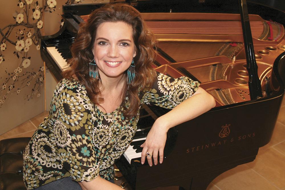 Dove Award Winning Singer-Songwriter Cheri Keaggy. Photo by Craig Mason