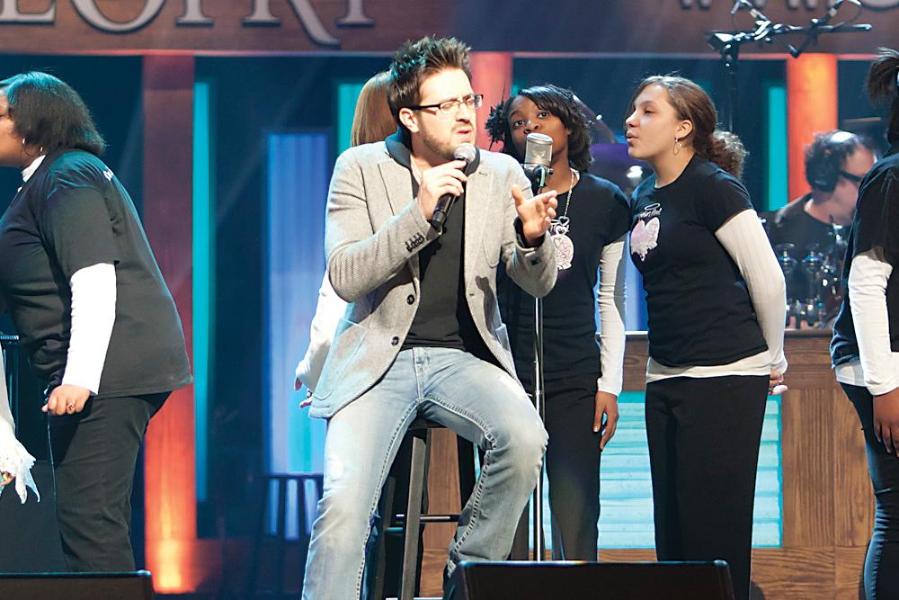American Idol Finalist Danny Gokey. Photo by Chris Hollo
