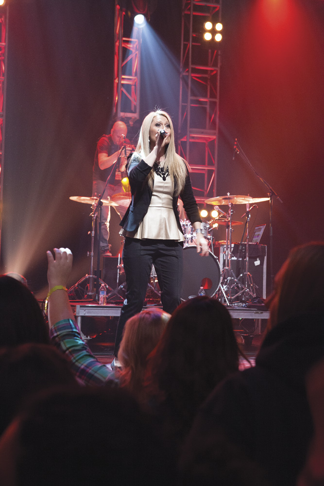 Planetshakers band member, Sam Evans. Photo by Rob Springer