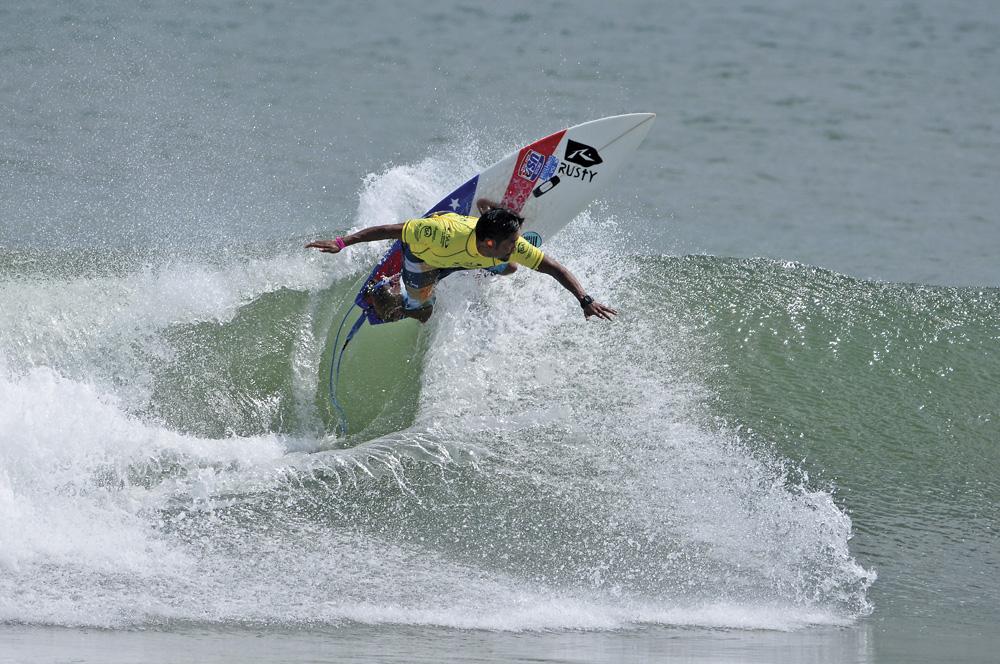 Pro Surfer Rick Takahashi