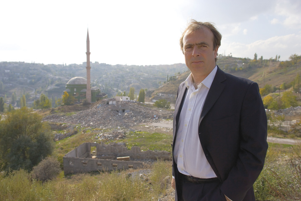 Prominent Author Peter Hitchens. Photo by Mail On Sunday