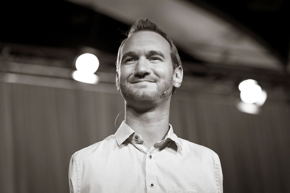 Nick Vujicic Finds Purpose by Overcoming Adversity