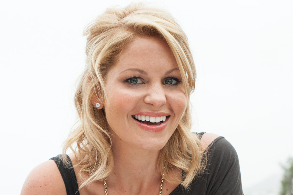 Full House Hit TV Show Star Candace Cameron Bure. Photo by Rob Springer