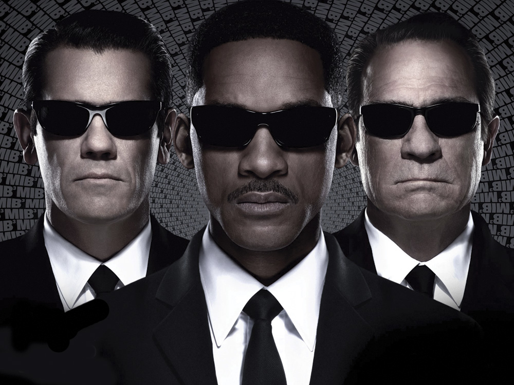 Men in Black 3: Josh Brolin (left), Will Smith and Tommy Lee Jones.
