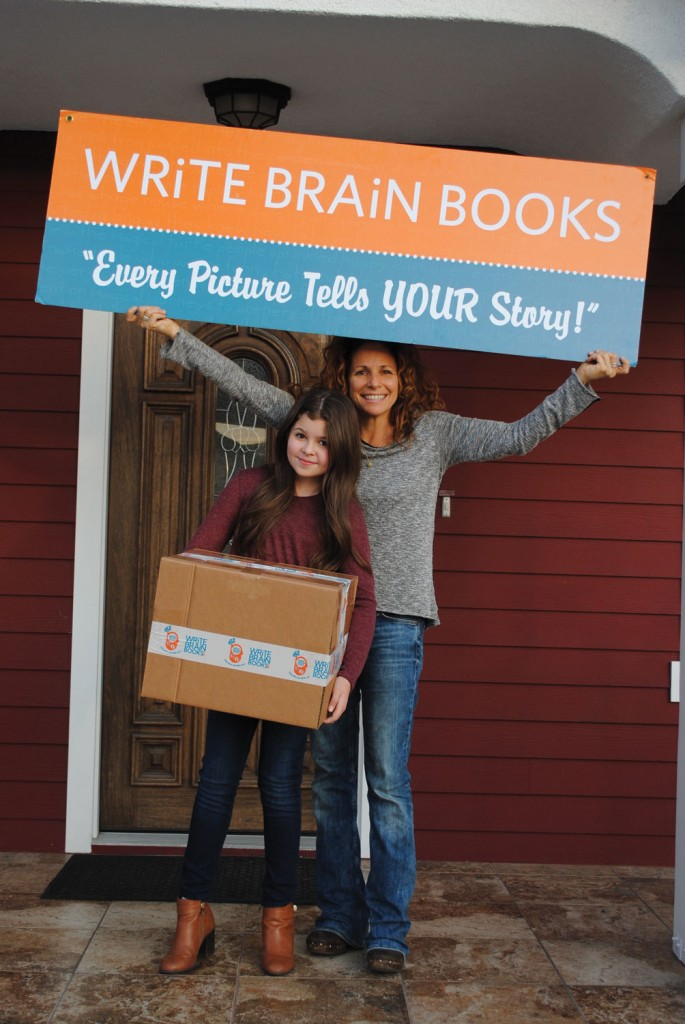 Addison with WRiTE BRAiN BOOKS Founder and CEO Meredith Scott Lynn.