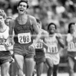 Jim Ryun at the 1972 Olympic Trials.