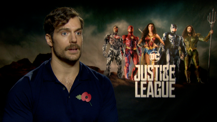 """Justice League"" Henry Cavill"