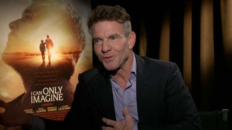 """Dennis Quaid Stars in """"I Can Only Imagine"""""""
