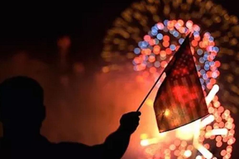 Celebrating Fourth of July