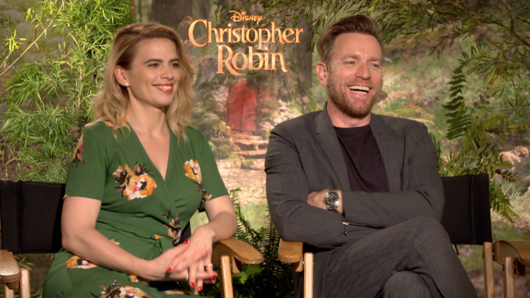 Ewan McGregor & Hayley Atwell on Childhood, Family & Play