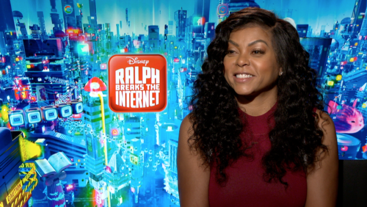 Taraji P. Henson on Family Disney Films