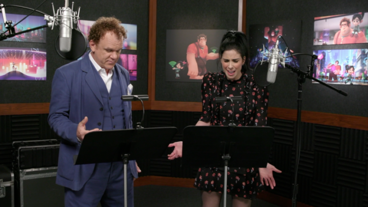 Ralph Breaks the Internet: John C. Reilly & Sarah Silverman