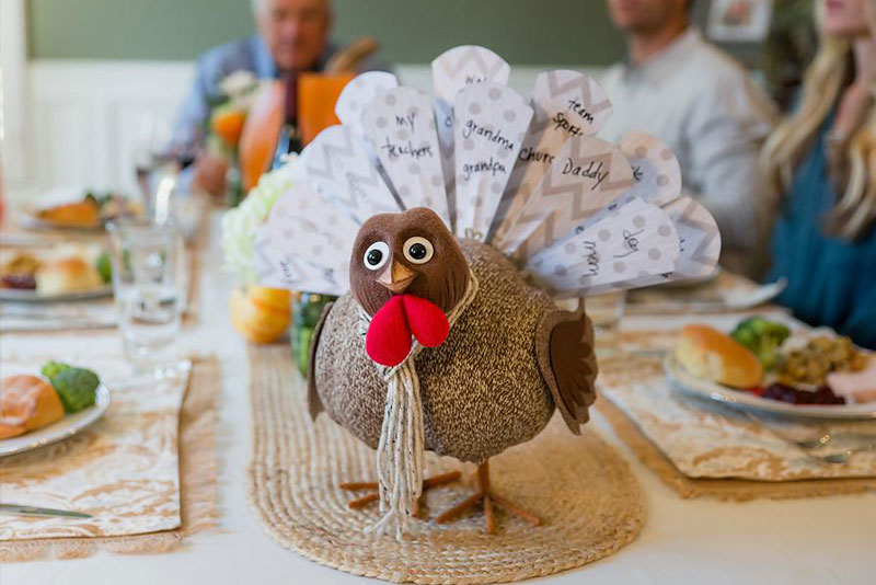 Being Thankful with Turkey on the Table