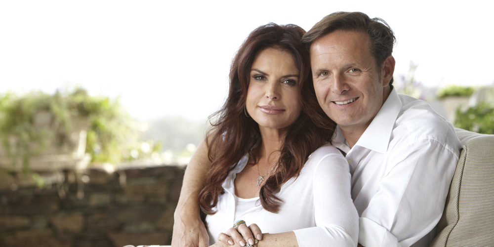 Survivor, The Voice, and Shark Tank Producer Mark Burnett and Roma Downey. Photo by Casey Crafford