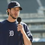 MLB Detroit Tigers Pitcher Darin Downs. Photo by David Barlow