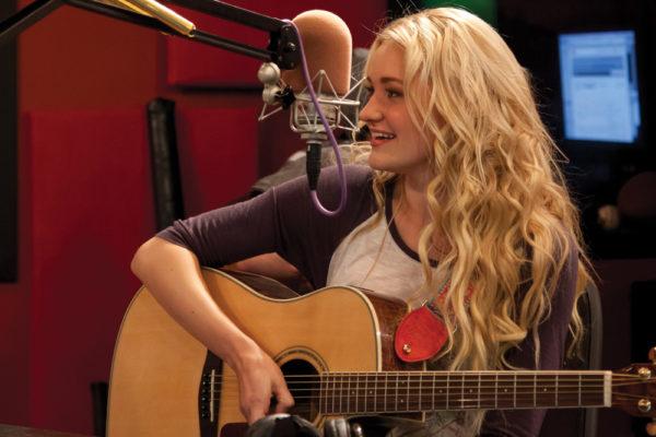 Singer and TV Star AJ Michalka.