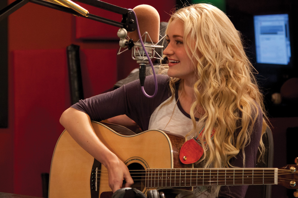Singer and TV Star AJ Michalka.