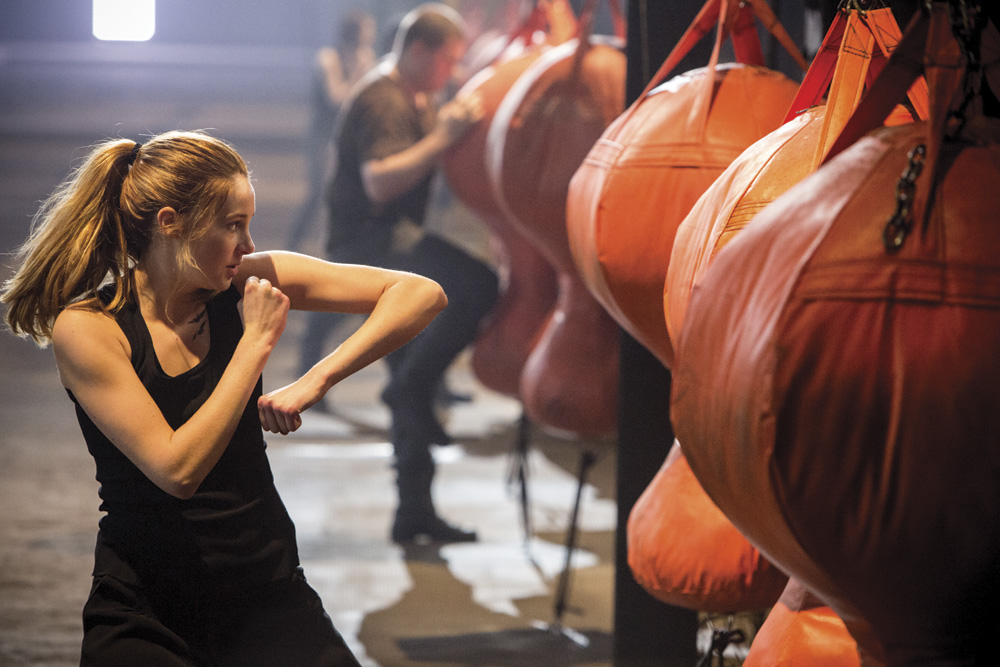 Divergent movie still. Photo by Jaap Buitendijk. © Summit Entertainment