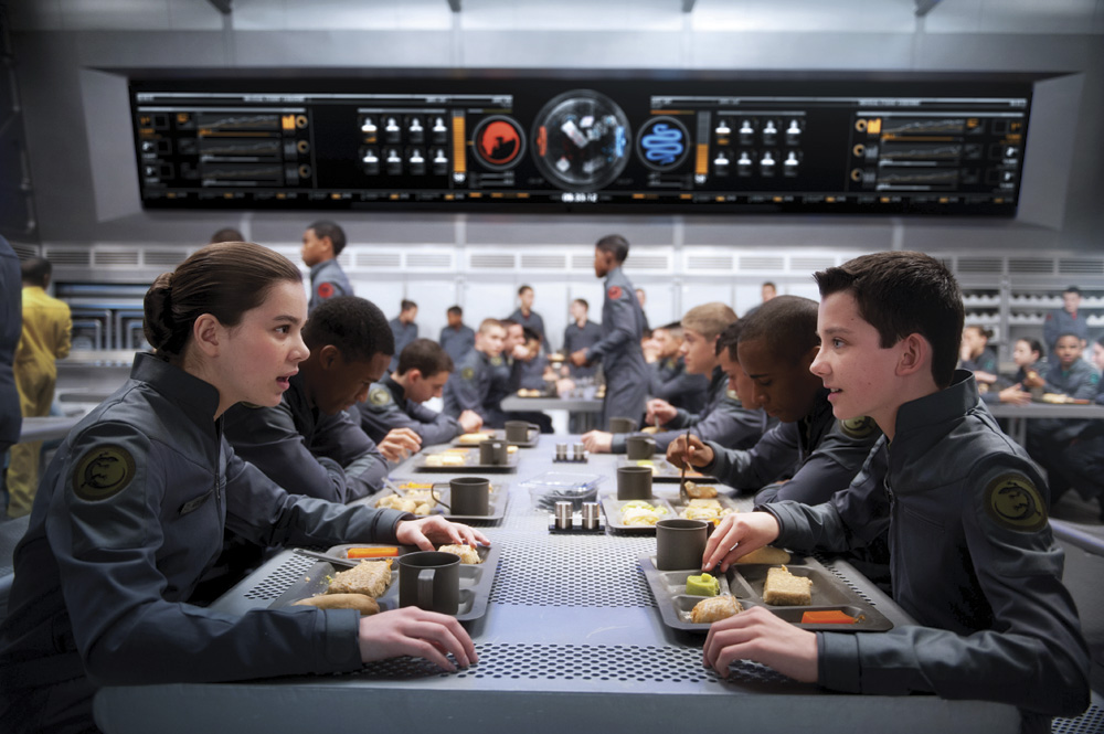Ender's Game movie still. Photo by Richard Foreman Jr. © Summit Entertainment