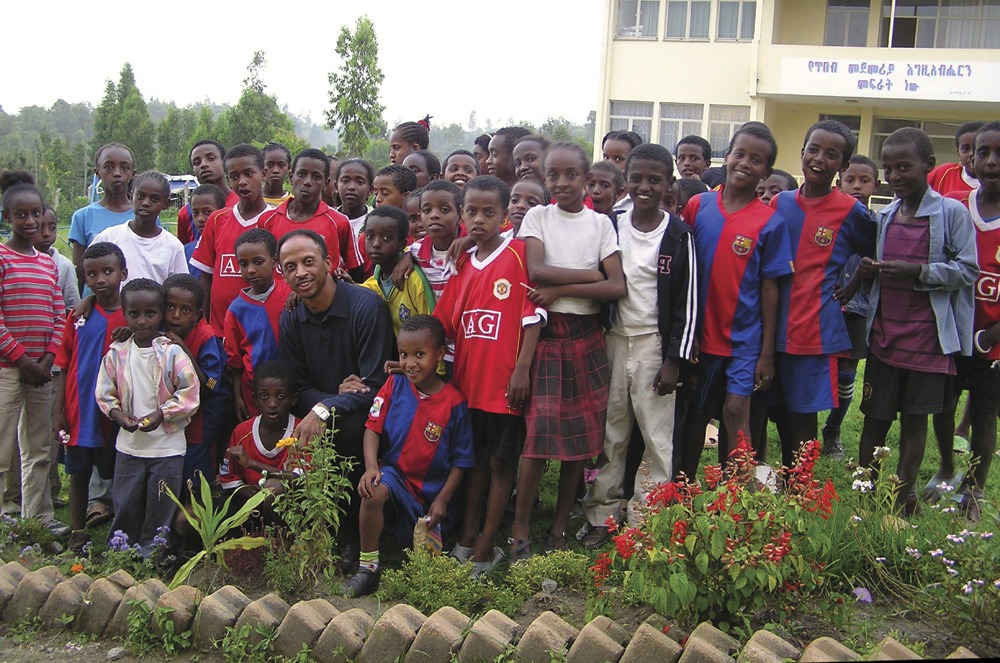 Larry Brown in Ethiopia