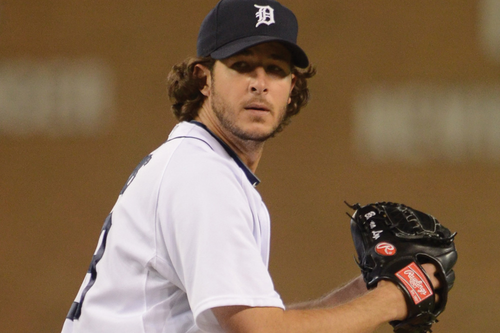 MLB Detroit Tigers Pitcher Darin Downs