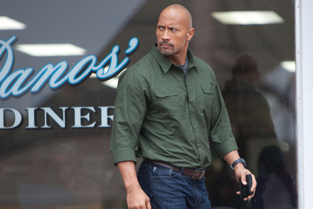 Snitch Movie's Dwayne Johnson. Photo by Steve Dieti. © Summit Entertainment