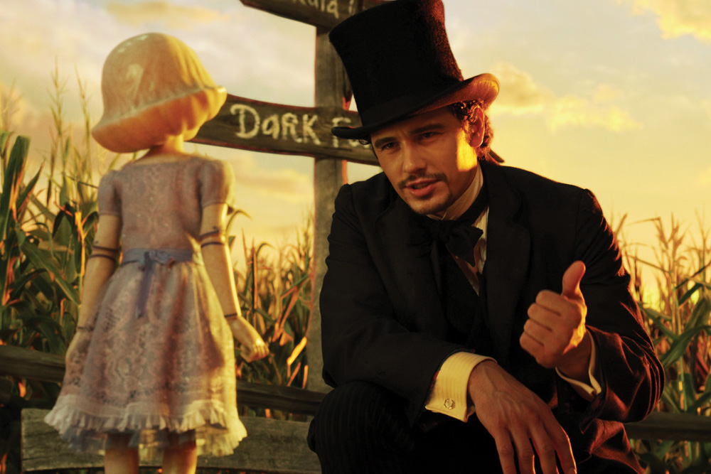 Oz: The Great and Powerful Movie's James Franco. © Disney Enterprises Inc.