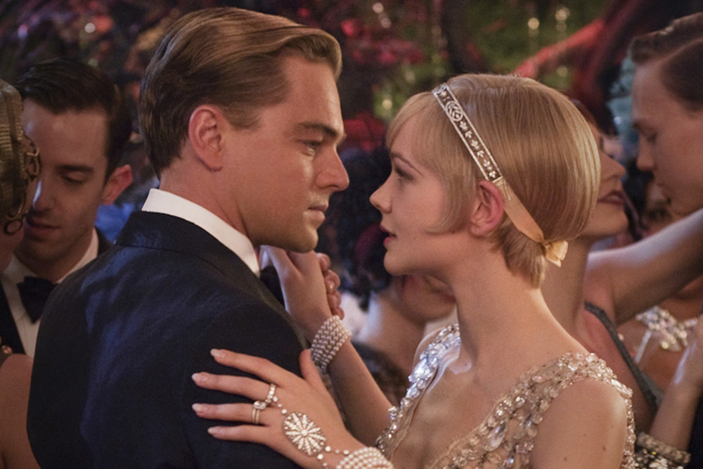 Leonardo DiCaprio and Carey Mulligan from The Great Gatsby movie. © Warner Bros.