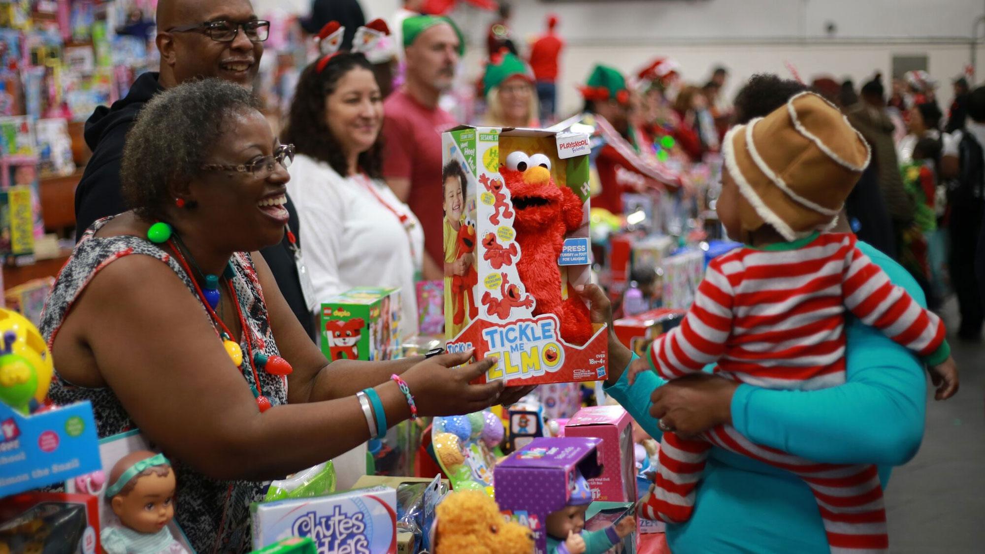 Celebrating with Toys for Joy