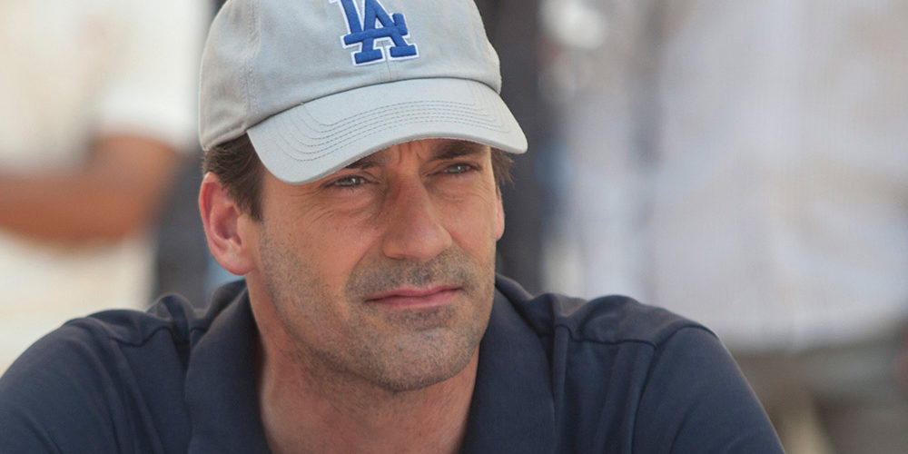 Actor Jon Hamm who plays JB Bernstein in the movie, Million Dollar Arm. Photo: Courtesy of Walt Disney Pictures