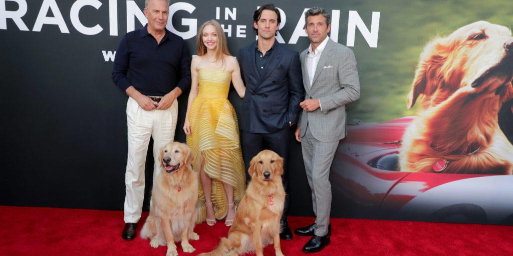 Kevin Costner, Butler, Amanda Seyfried, Milo Ventimiglia, Parker, Patrick Dempsey, Producer,